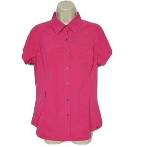 The North Face Performance Button Up Shirt Medium